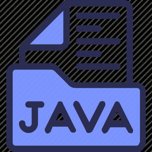 coding, development, file, folder, java, script icon