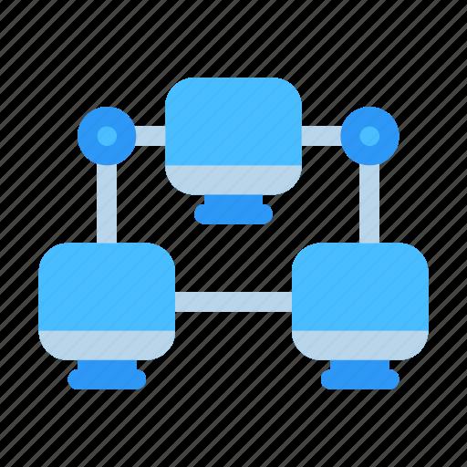 Computer, connection, design, development, internet, network, web icon - Download on Iconfinder