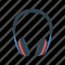 audio, headphone, headset, speaker icon
