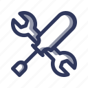 design, development, fix, maintenance, repair, setting, web icon