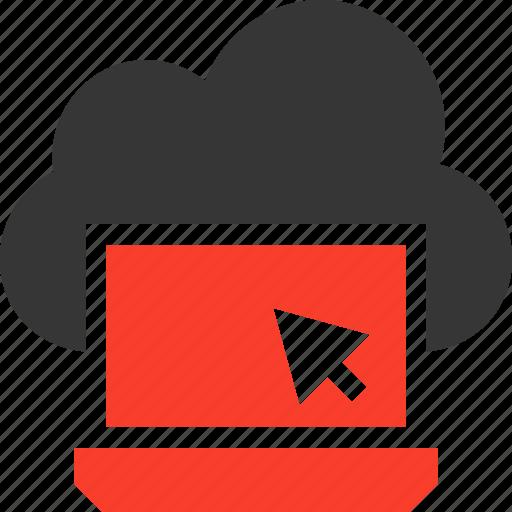 Cloud, computing, laptop icon - Download on Iconfinder