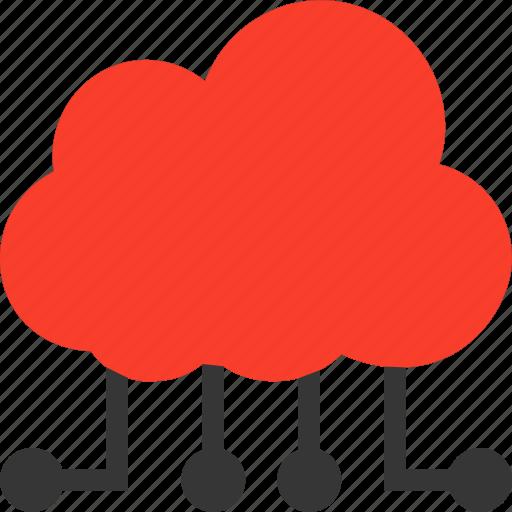 cloud, computing, internet, network icon