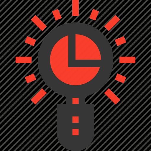chart, graph, infographics, pie icon
