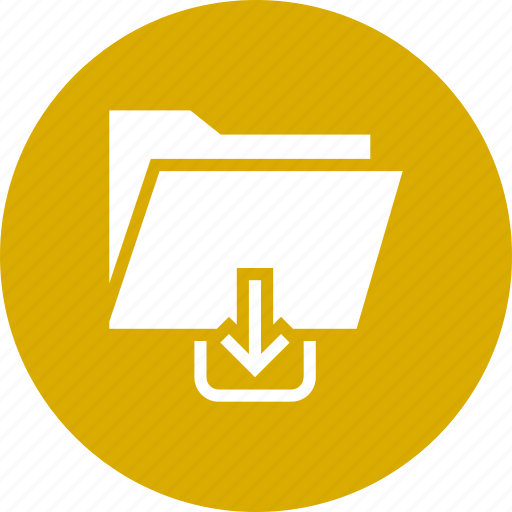 document, download, file, folder, storage, upload icon