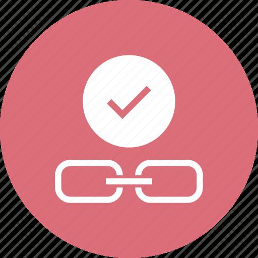 address, chain, check, hyperlink, web icon