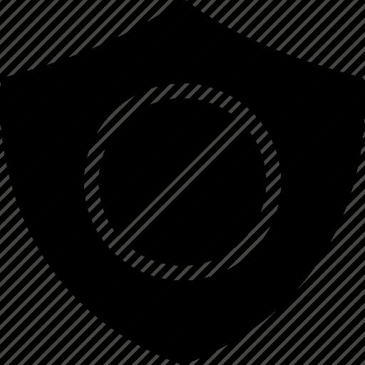 Ads, block, safe, shield icon - Download on Iconfinder
