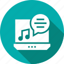 media, music, note, player icon