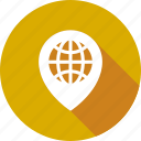 globe, location, map, world icon