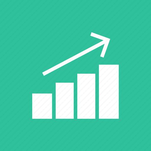 bar, chart, financial, graph, graphic, statistics icon