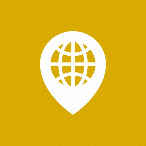 globe, location, map, world icon