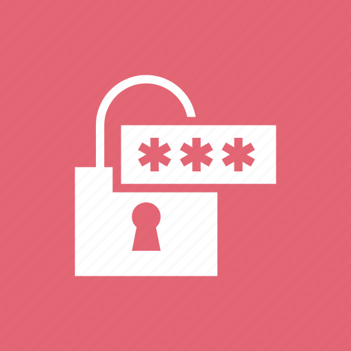 access, lock, password, protect, safety, security icon