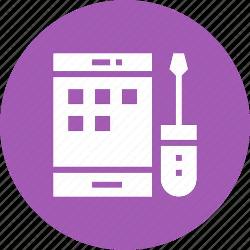 Api, app, cog, development, mobile, setting icon - Download on Iconfinder
