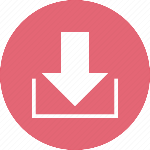 arrow, download, email, inbox, mail, message icon