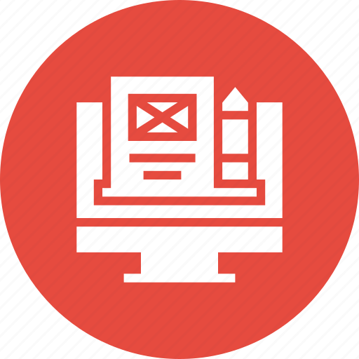 article, blog, browser, edit, page, web, website icon