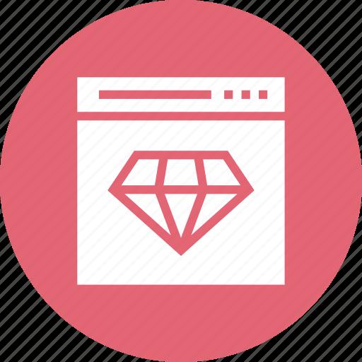 badge, quality, ranking, star, web icon