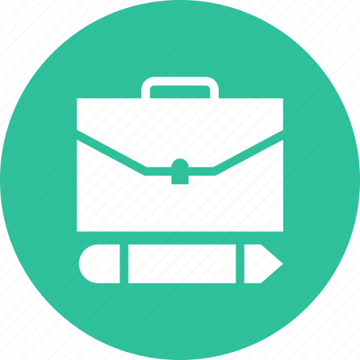 bag, briefcase, business, edit, portfolio, suitcase, work icon