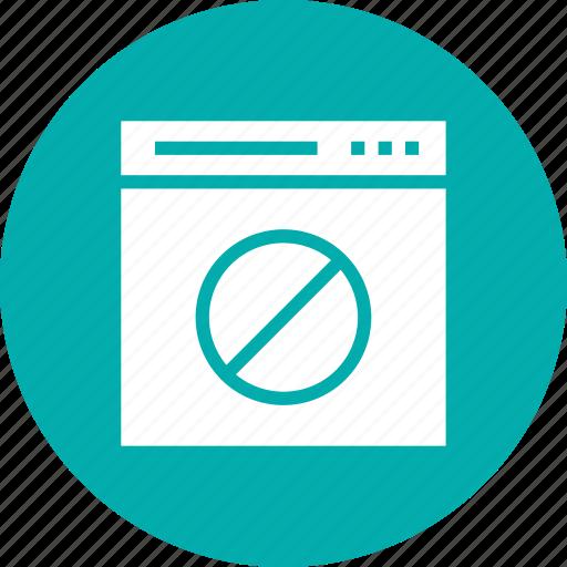 Block, browser, internet, web, window, windows icon - Download on Iconfinder