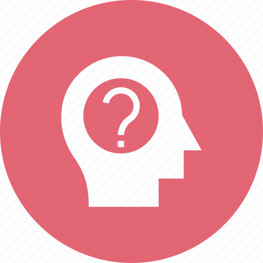 Brain, brainstorming, education, faq, frustration, question icon - Download on Iconfinder