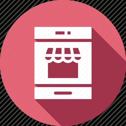 cart, mobile, shop, shopping icon