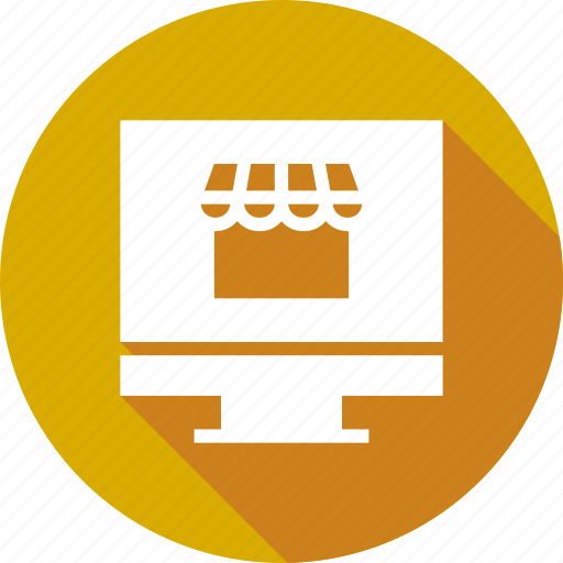 browser, ecommerce, homepage, monitor, online, portal icon