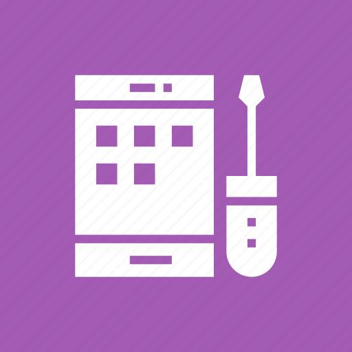 api, app, cog, development, mobile, setting icon