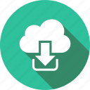 cloud, computing, network, sharing icon