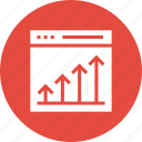 web, business, success, marketing, growth, cahrt, seo