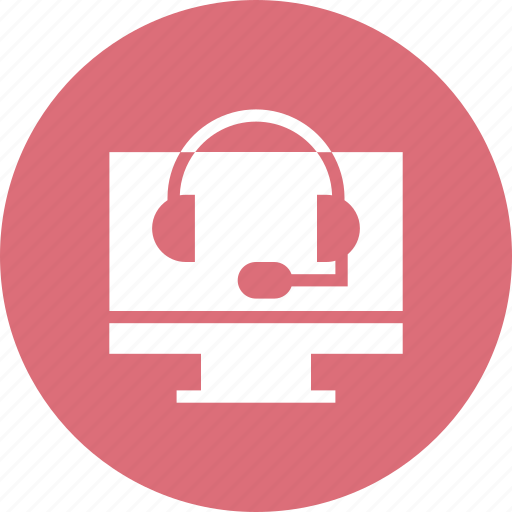 call, centre, help, helpdesk, hotline, operator, shop icon