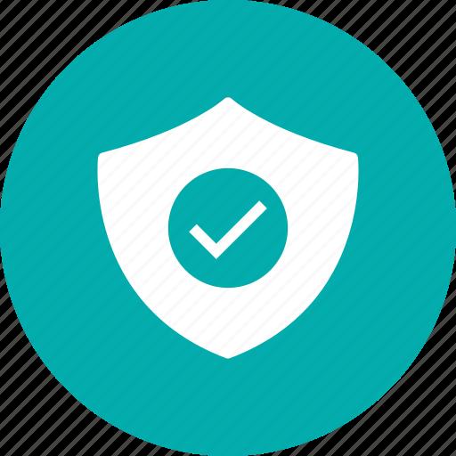 check, prevent, safe, security, shield icon