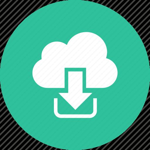 cloud, computing, network, sharing icon
