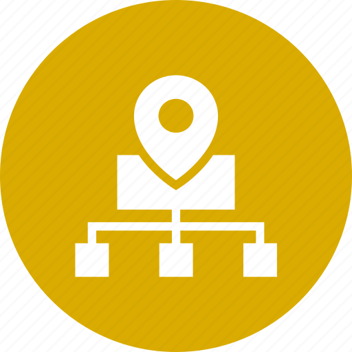 cloud, connection, direction, location, navigation, network, share icon