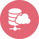 cloud, hosting, server, services, web icon