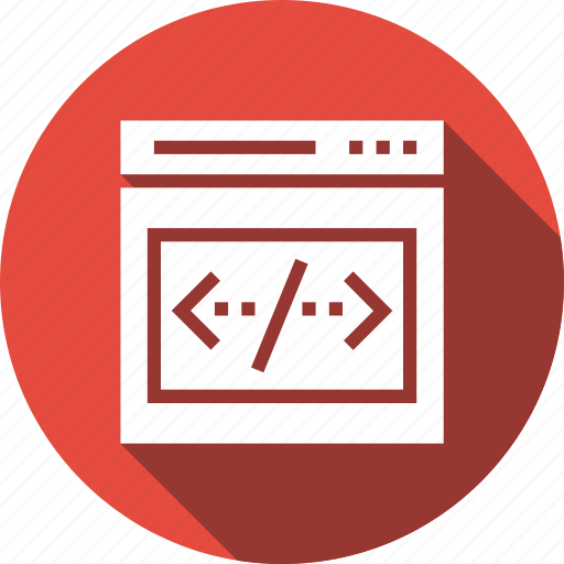 coding, computer, html, online, webpage, website icon