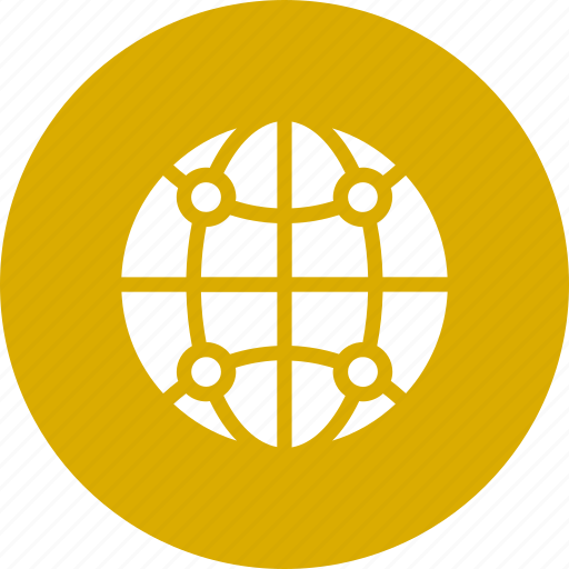 connected, global, internet, network, technology, web, www icon