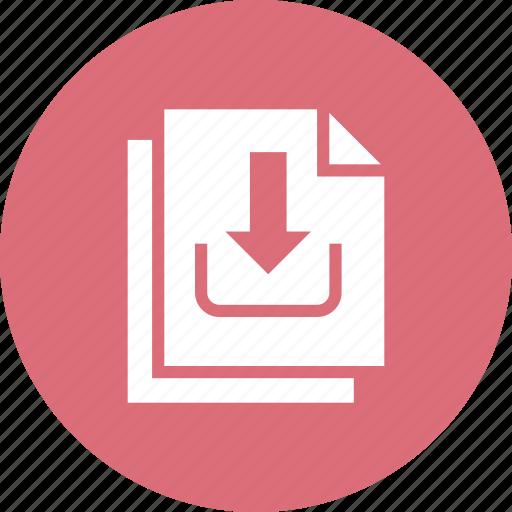 copy, data, download icon