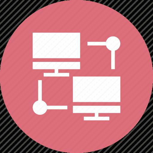 data, flow icon