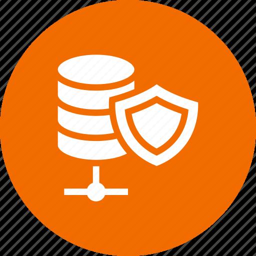 data, network, security, server, storage icon