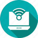 wireless, laptop, computer, technology, wifi