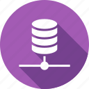 data, network, share, storage icon