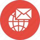 global, envelope, letter, mail, message, email