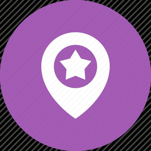 Favorite, geo, location, star, targeting icon - Download on Iconfinder