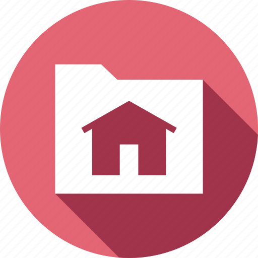 document, folder, home, house icon