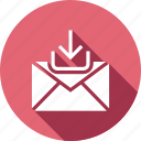 download, email, inbox, mail, message