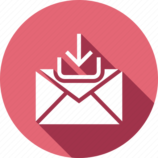 download, email, inbox, mail, message icon