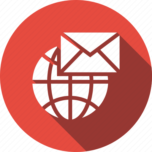 email, envelope, global, letter, mail, message icon