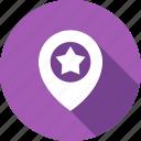 favorite, geo, location, star, targeting icon