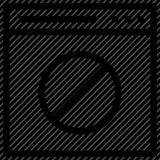 block, browser, internet, web, window, windows icon icon