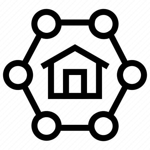 home network, home networking, internet, network icon icon