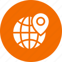 global, globe, location, world