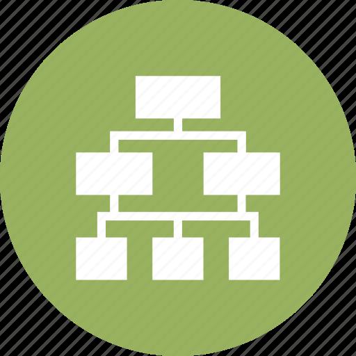 hierarchy, scheme, sitemap, structure icon